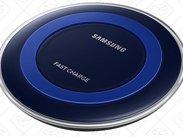 Samsung's Fast Charge Qi Pad Works With the New iPhones Too, and Has Never Been Cheaper