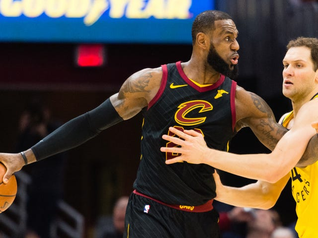 Someone Else On The Cavaliers Needs To Score, Too