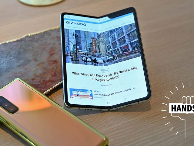 Damn, Could the Samsung Galaxy Fold Be Worth It?