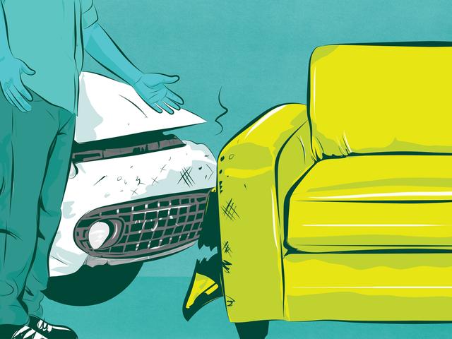 道路のソファが事故を引き起こしたとき、誰が責任を負うのでしょうか。