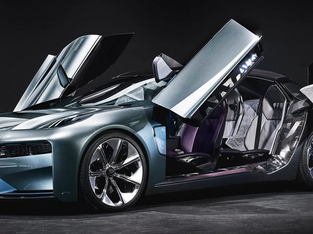 Lynk & Co.'s New Concept Sedan Looks Kind Of Awesome