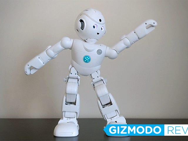 ฉันให้หุ่นยนต์ Alexa ขนาด 800 เหรียญพ่นรอบบ้านเหมือนหุ่นยนต์เครื่องกลเล็ก ๆ