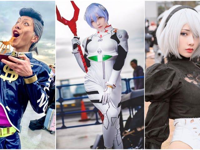Le Japon a terminé l'année avec d'excellents cosplay