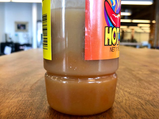 My hot sauce is turning pale. Is it safe to use?
