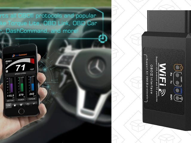 Speak Your Car's Language With This $12 Wi-Fi OBD2 Dongle