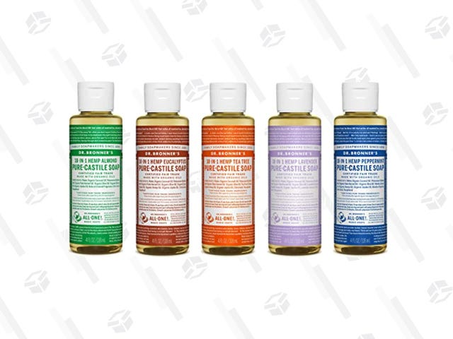 Get a Dr. Bronner's 5-Piece Sampler Gift Set For Only $22
