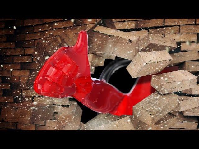 विज्ञान आखिरकार उत्तर: क्या ईंट-एक आदमी ईंट की दीवार के माध्यम से तोड़ सकता है?