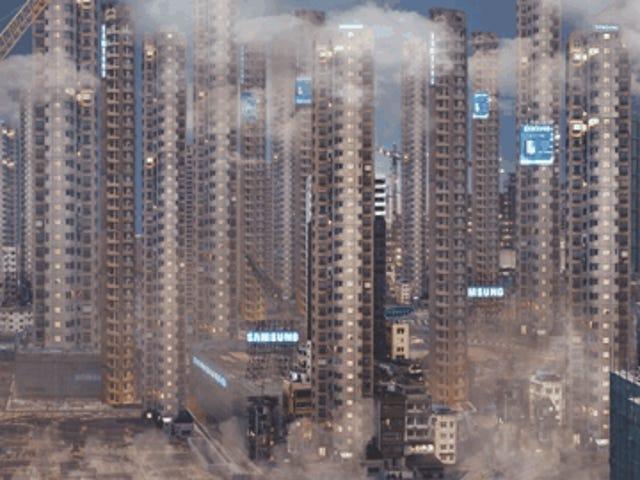 Utforska den mörka framtiden för städer i dessa intensiva 5K animerade shorts