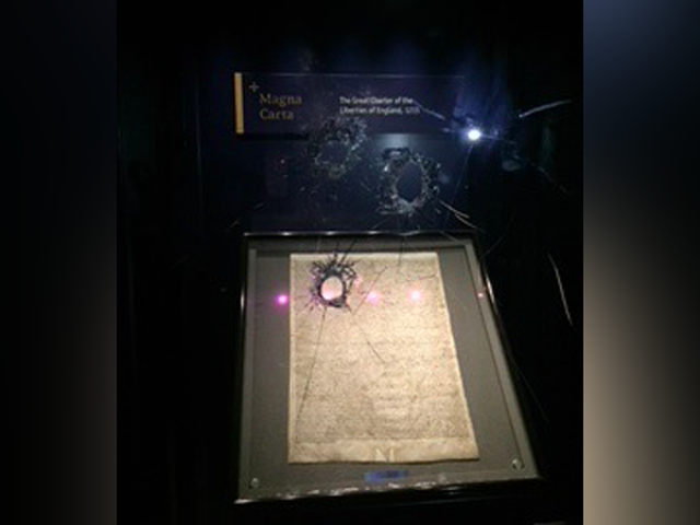 Man Arrested for Attempted Theft of Magna Carta After Display Smashed With Hammer