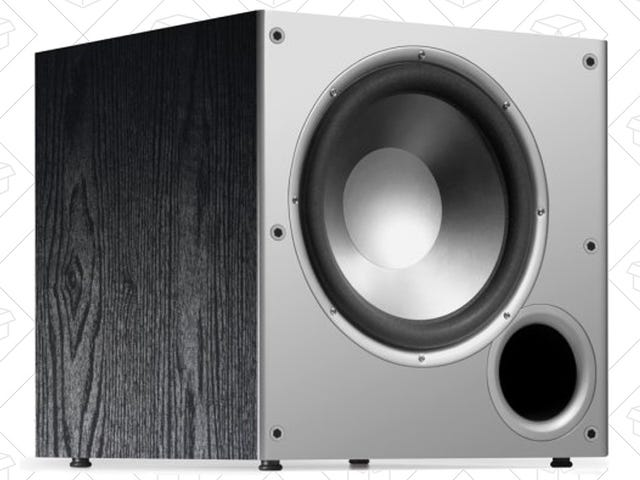 Here's a Floor-Rattling Deal On Amazon's Top-Selling Subwoofer, For Prime Members Only