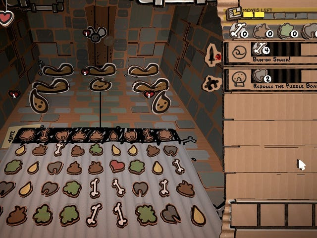 Edmund McMillen details the launch of his poop-flecked puzzle game, Legend Of Bum-bo