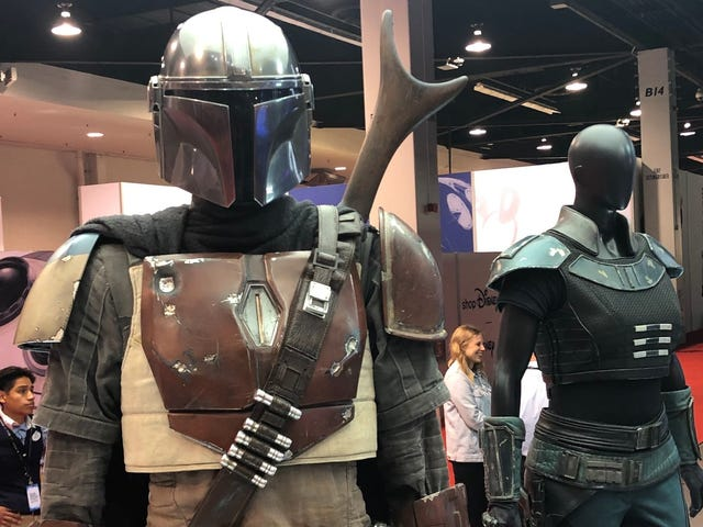 Up Close and Personal With the Armor and Weapons of The Mandalorian's Mysterious Stars
