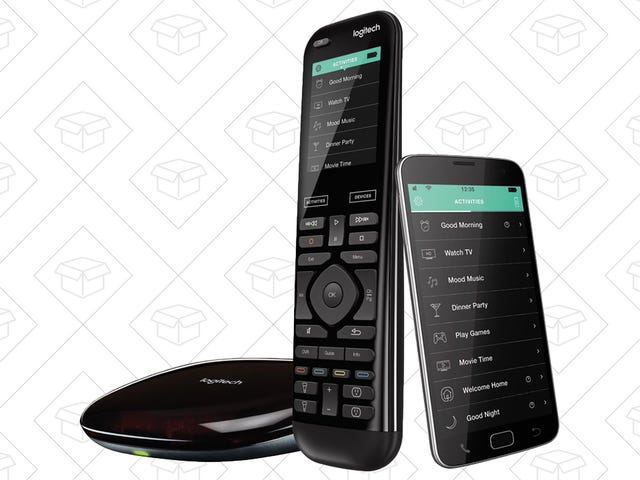 You Didn't Know a Remote Could Be This Smart - Get Logitech's Harmony Elite for An All-Time Low Price