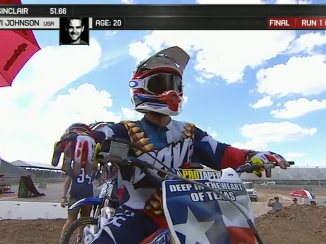 The Best Moto X Livery Of The X Games Was Texas In A Nutshell