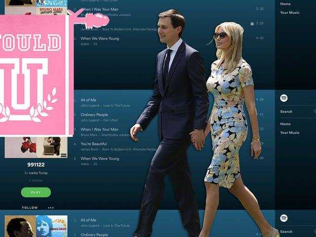 Would You Have Sex to Jared and Ivanka's (Possible) 21-Minute Fuck Playlist?