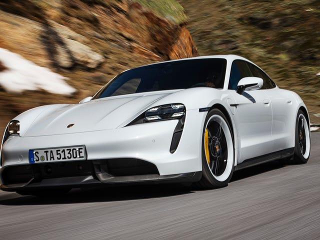 Το 750 CP Porsche Taycan Turbo S είναι ένα φανταστικά γρήγορο EV που αρχίζει στα 185.000 δολάρια