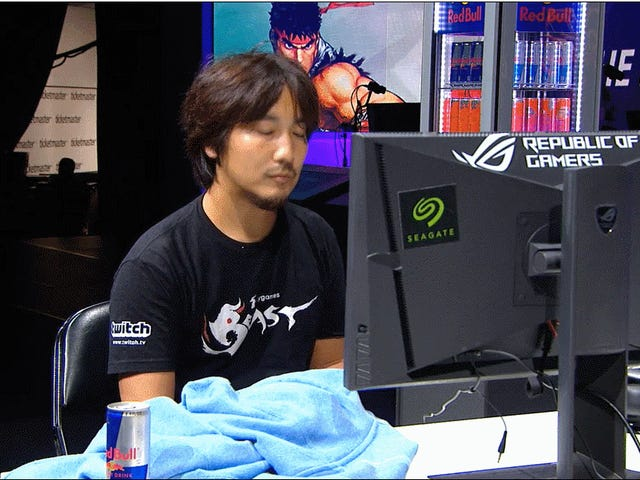 <i>Street Fighter</i> Pro Goes Looking For An Energy Drink Mid-Match To Keep The Overlords Corporate Happy
