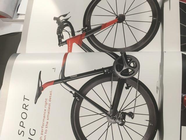 Όποιος θέλει να αγοράσει ένα ποδήλατο Audi;
