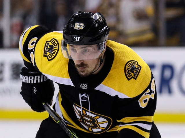 Report: The NHL Tries, Once Again, To Talk Brad Marchand Out Of Licking People