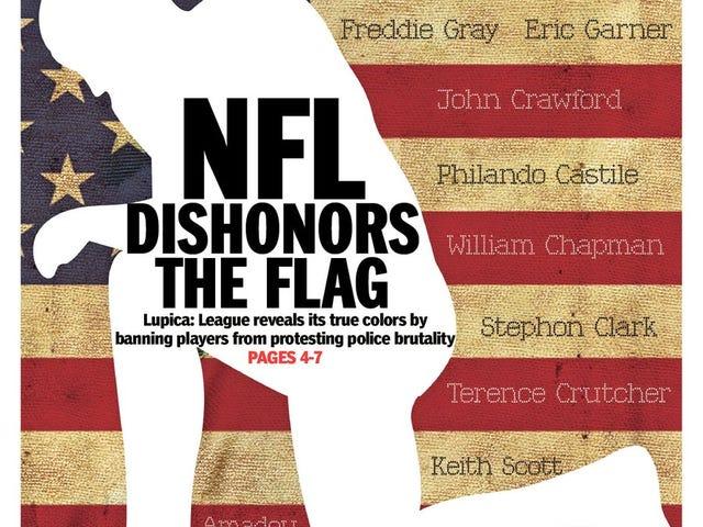 NFL No-Knee Rule Blasted as Slap at Blacks