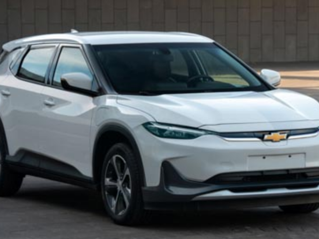 Chevrolet Is Betting Its EV Future On This Electric Compact Crossover