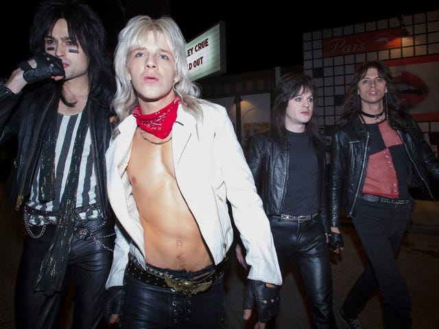 Mötley Crüe biopic <i>The Dirt</i> makes even the viewer feel the need to shower afterward