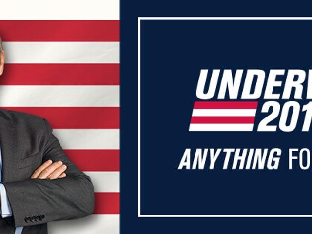 फ्रैंक अंडरवुड पाइड टू वोटो एन एल <i>teaser</i> डे ला क्यूर्टा टेम्पाडा डे <i>House of Cards</i>