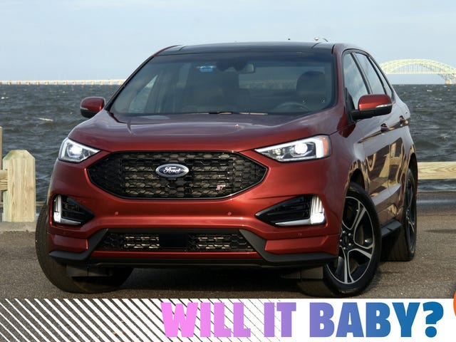 The 2019 Ford Edge ST Needs To Be Sharper Or Cheaper