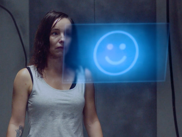 A Woman Faces the Digital Ghosts of Her Past in Swedish Scifi Short FilmIn the Gap