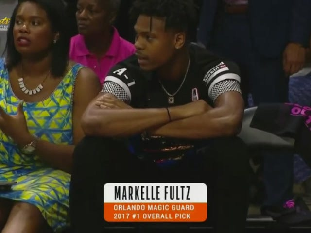 That Is Not Markelle Fultz Or His Mom