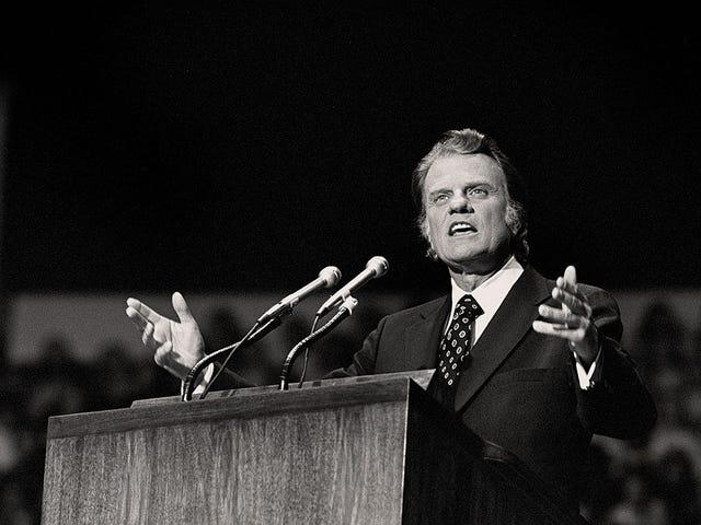 Billy Graham has died at age 99