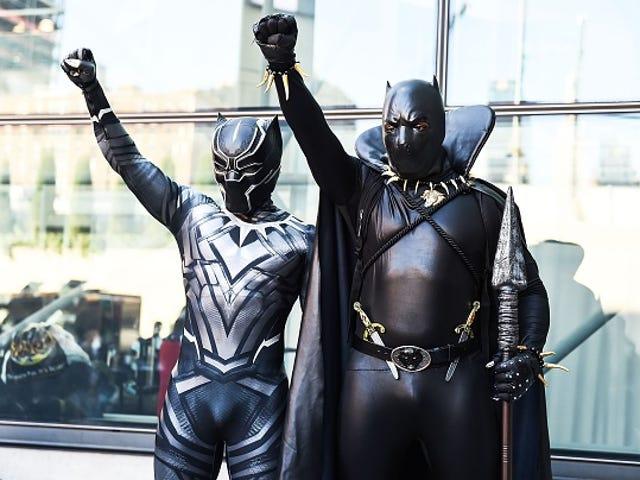 Melanina Loucura!  Trailer de <i>Black Panther</i> cai e as pessoas perdem suas mentes