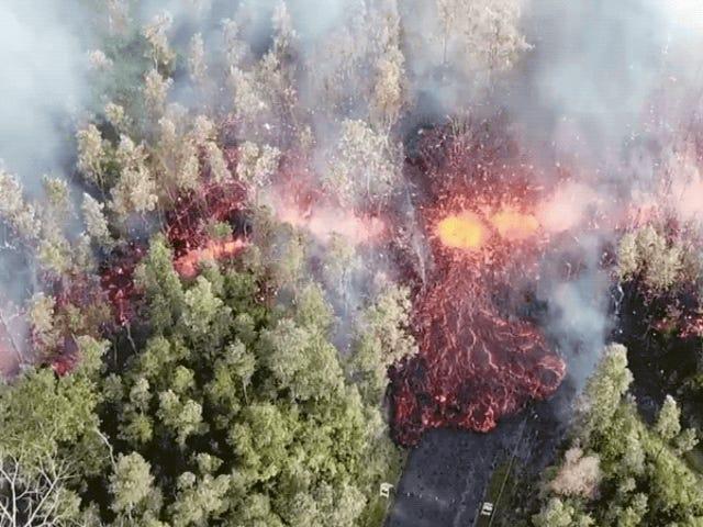 Eruption of Kilauea Volcano Triggers Mandatory Evacuations on Hawaii's Big Island