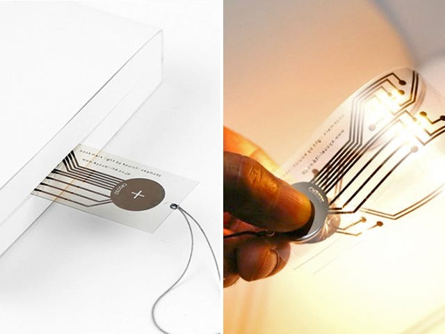 Add a Battery and This Ultra-Thin Bookmark Becomes a Reading Light