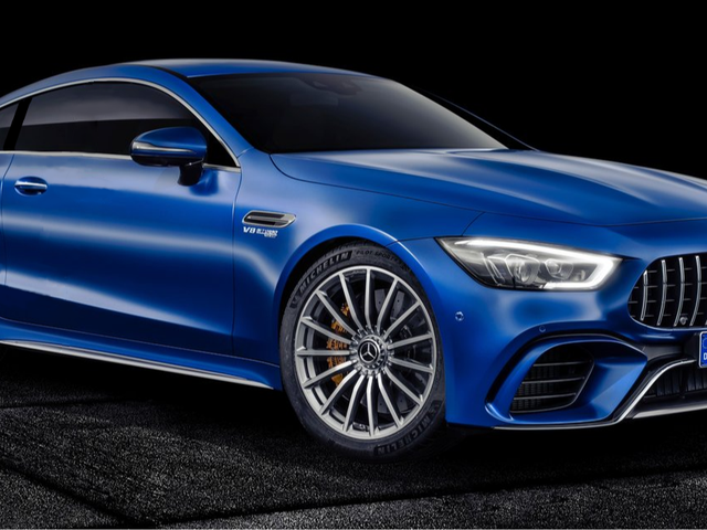 Just for kicks, I made a 2 door version of the 4 door version of the AMG-GT