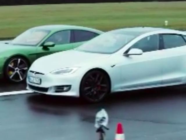 Porsche Taycan derrota Tesla Model S em aceleração, manuseio e qualidade de construção no teste de comparação alemão