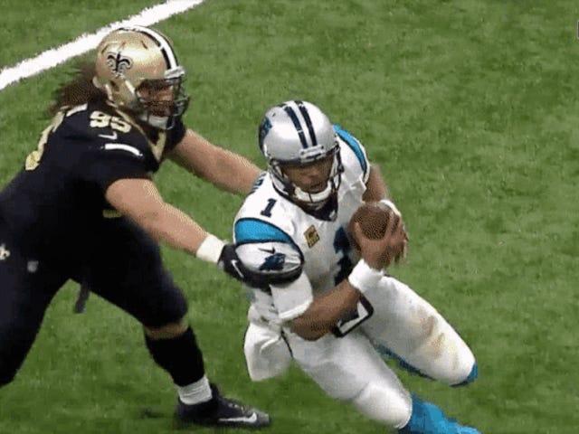 NFL fica atrevida enquanto cancela panteras de violações de protocolo de concussão