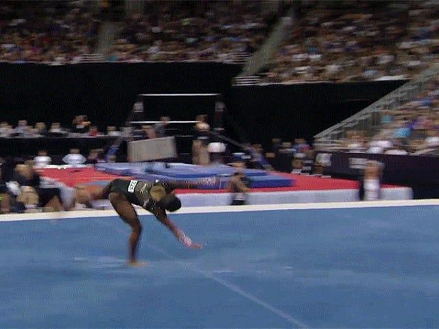 Simone Biles Has Once Again Broken Gymnastics