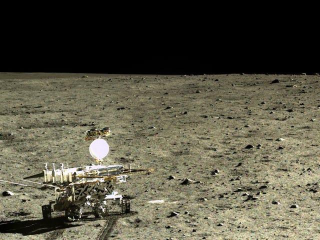 Mitä Kiinan Yutu Rover oppi Kuuhun