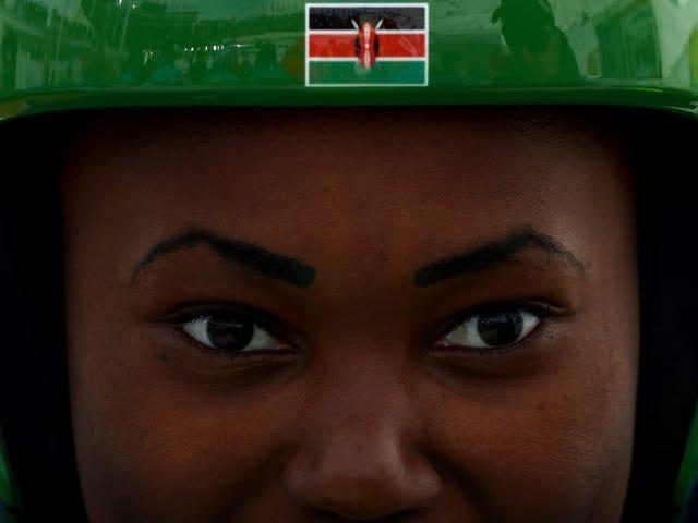 Running Slaloms on 'Em: Kenyan SkierSabrina SimaderMakes It to 1st Winter Games