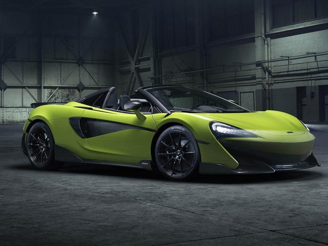 2020 McLaren 600LT Spider: Which One of You Bastards Is Gonna Do 197 MPH With No Roof