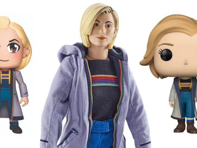 The Very First 13th Doctor Toys and Apparel Are Here