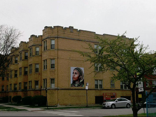 A Chicago Muralist Plagiarized a Black Female Artist's Depiction of Michelle Obama