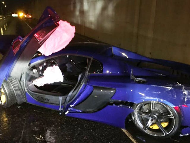 This McLaren 650S Wreck Wasn't That Terrible All Things Considered