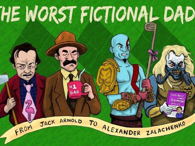 De værste fiktive far, fra Jack Arnold til Alexander Zalachenko