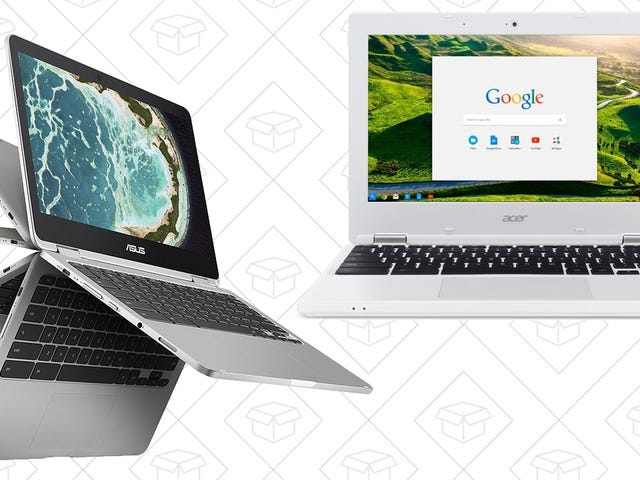 Take Your Pick of Two Cyber Monday Chromebook Deals, Starting At $100