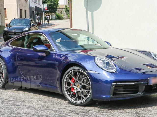 2020 Porsche 911: hier is het lang voordat je wordt verondersteld het te zien