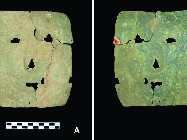 This 3,000-Year-Old Copper Mask Is Rewriting South American History