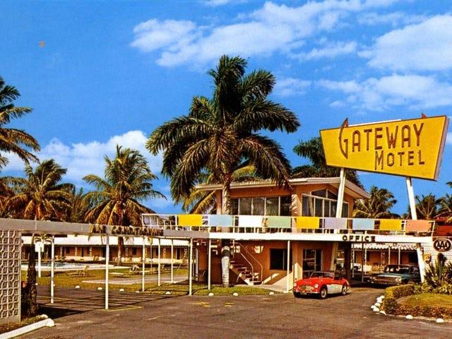 Gateway Motel. Ft Lauderdale, FL (1960)