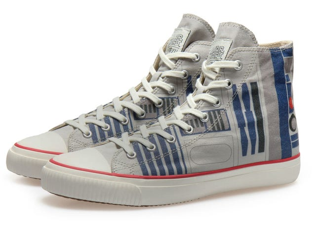 Roll Like a Boss in These Brand New R2-D2 Hightops